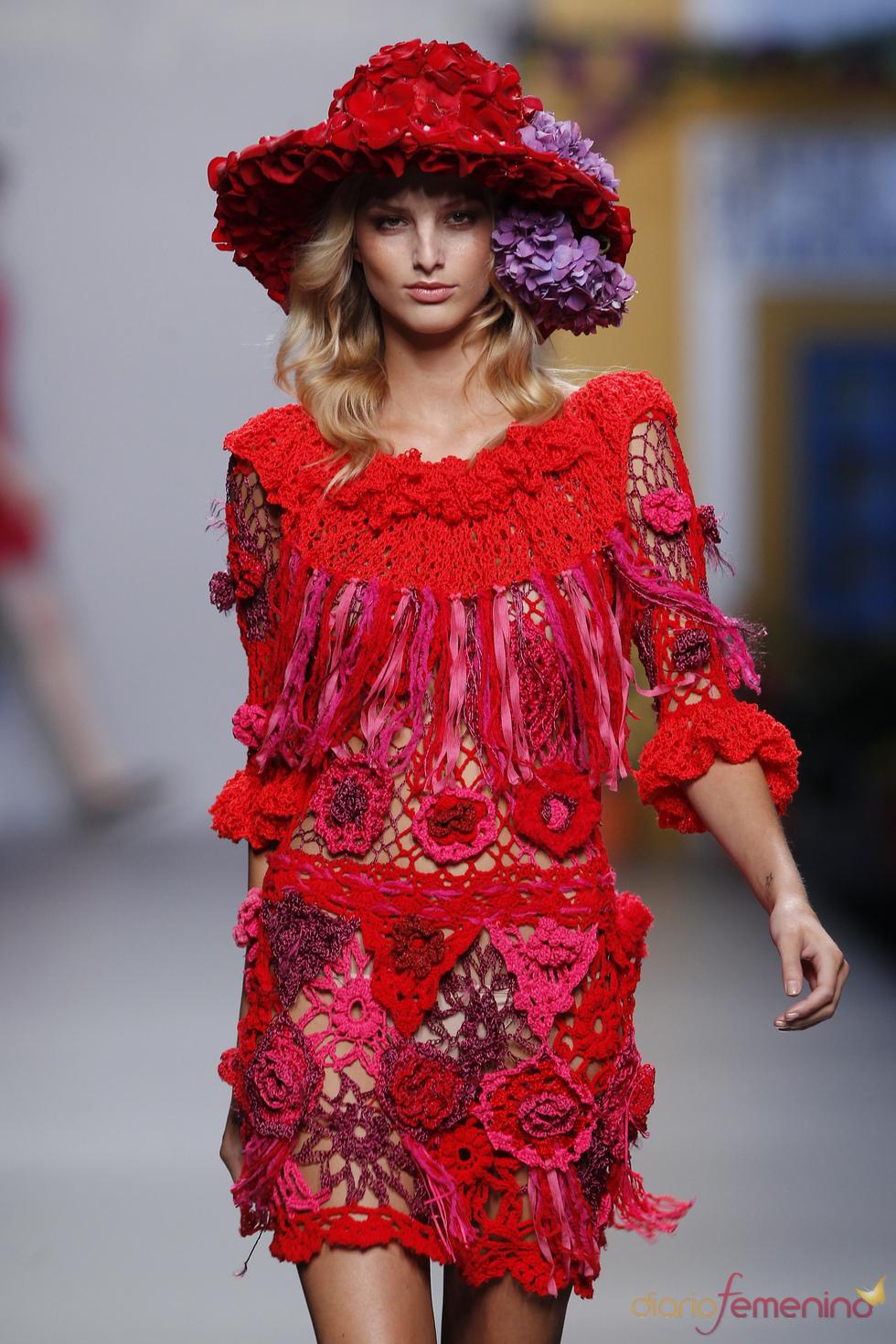 Vestido de Francis Montesinos para la Primavera Verano 2011