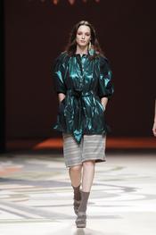 Verde reflectante en la colección primavera verano 2010 de Ailanto
