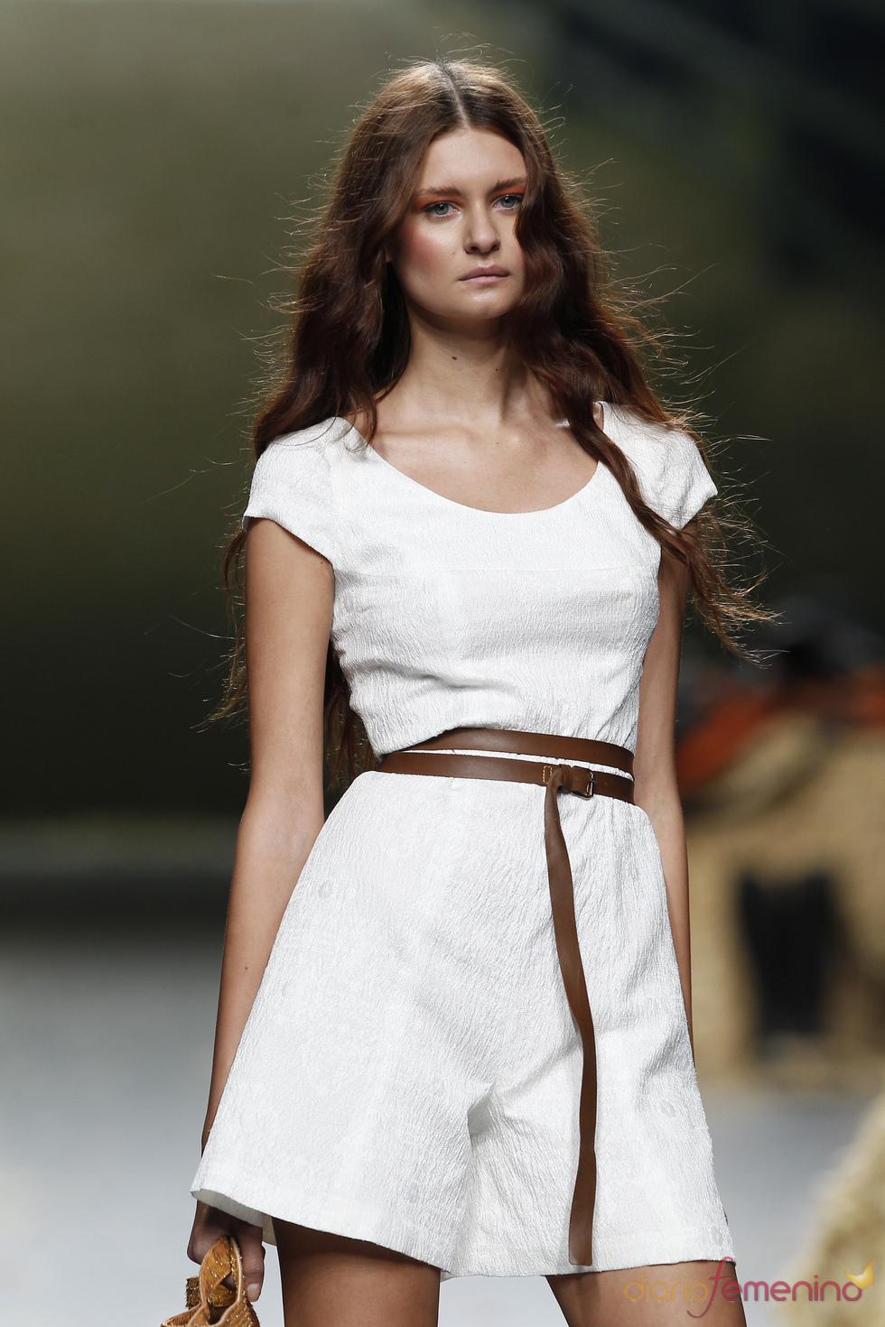 Cibeles Madrid Fashion Week con Alma Aguilar