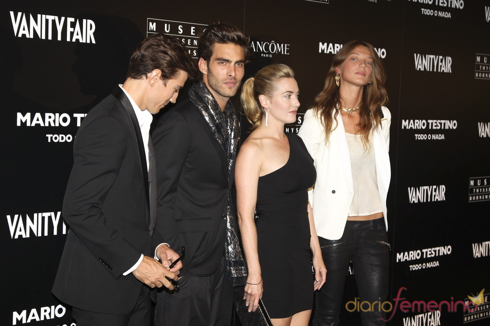 Kate Winslet posa con Jon Kortajarena en Madrid