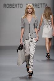 Roberto Torretta en la Cibeles Madrid Fashion Week