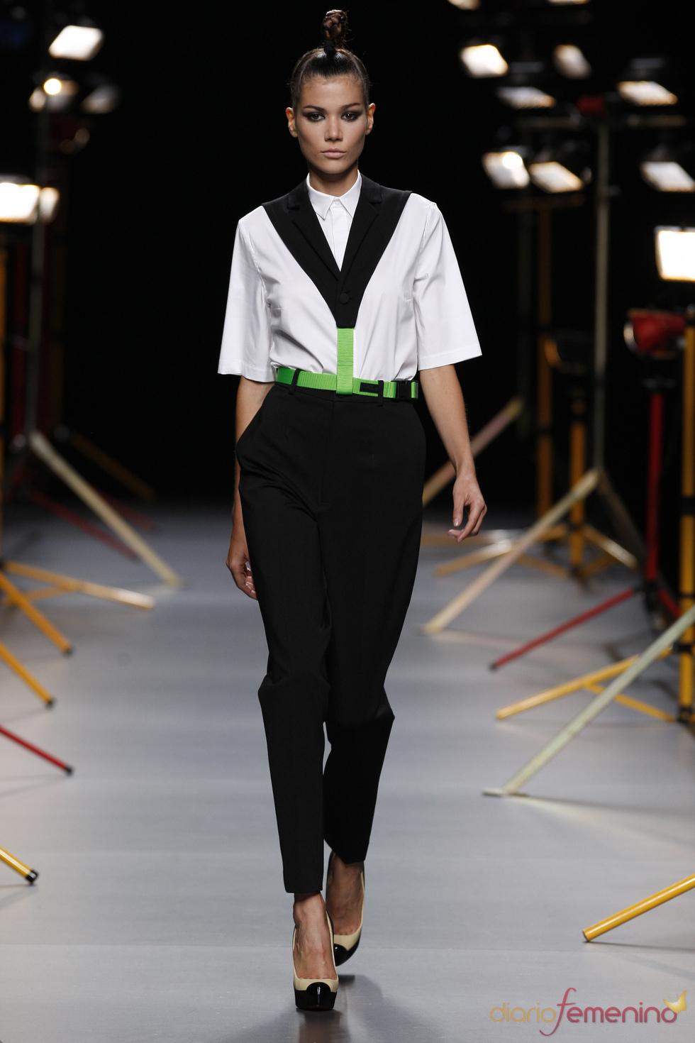 Desfile de David Delfín en Cibeles Madrid Fashion Week