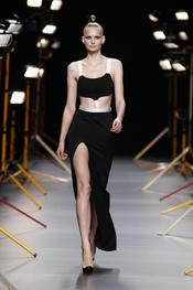 Vestido de fiesta de David Delfín en Cibeles Madrid Fashion Week