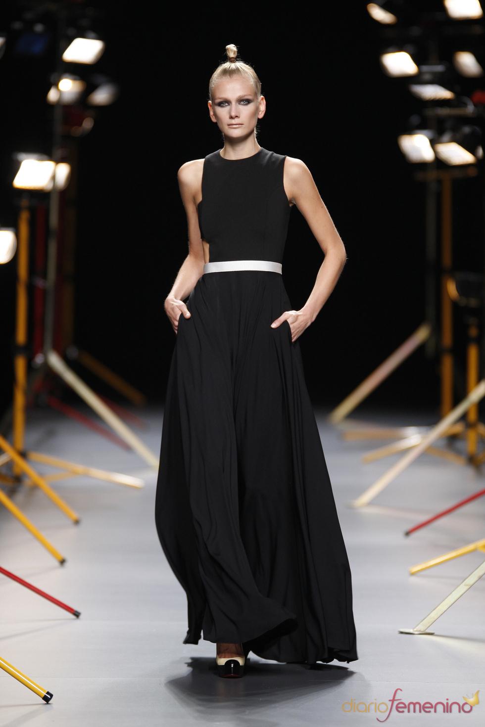 Vestido de noche de David Delfín para la primavera-verano 2011