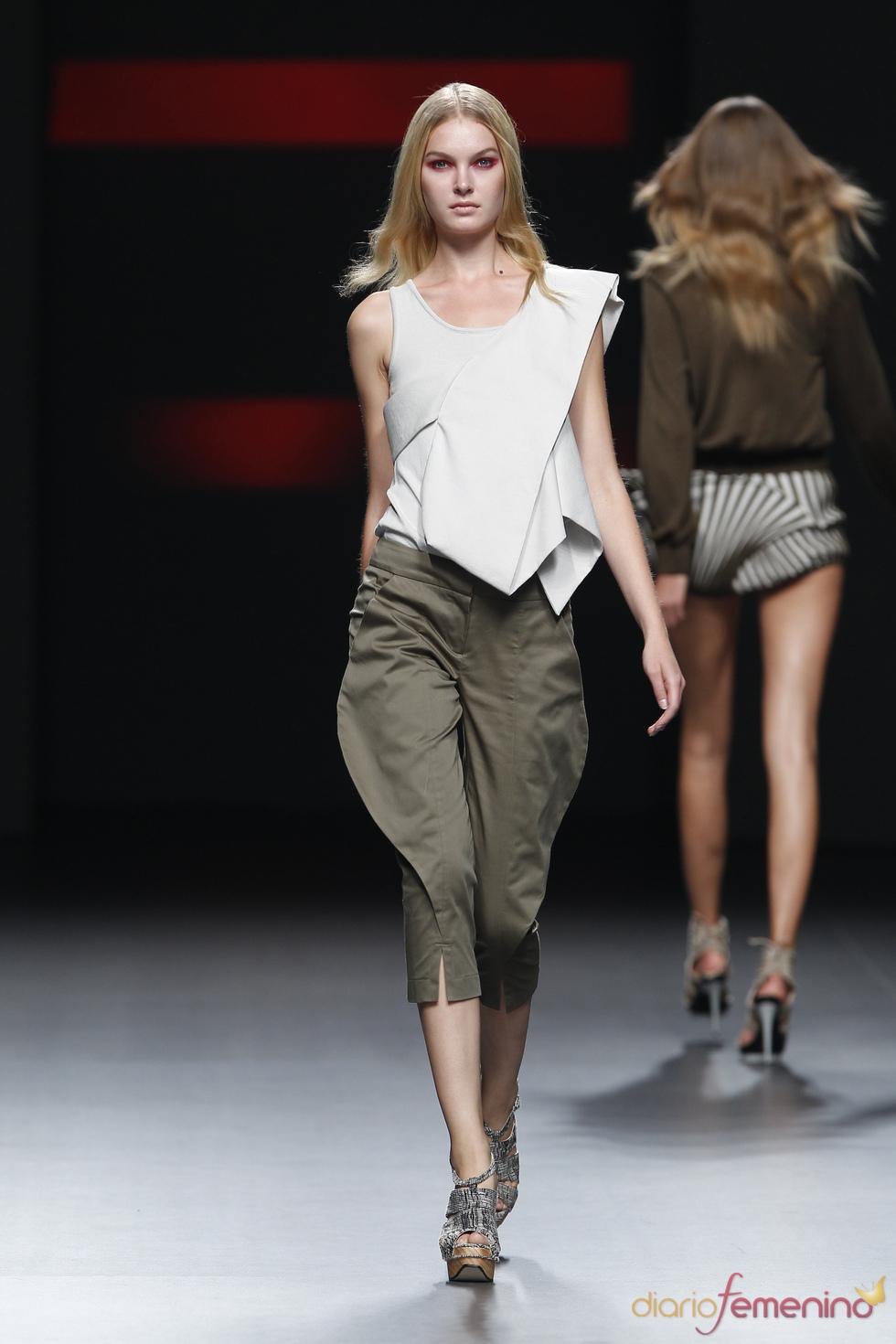 Moda mujer de Amaya Arzuaga para primavera-verano 2011