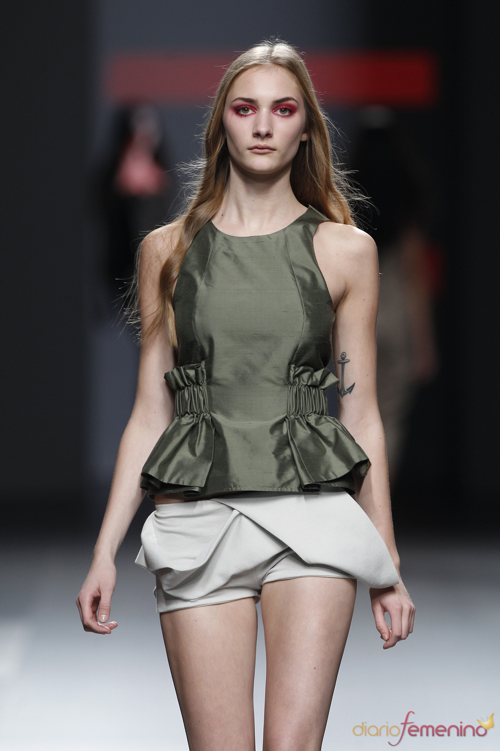Los shorts, prenda estrella de la temporada primavera-verano 2011 de Amaya Arzuaga