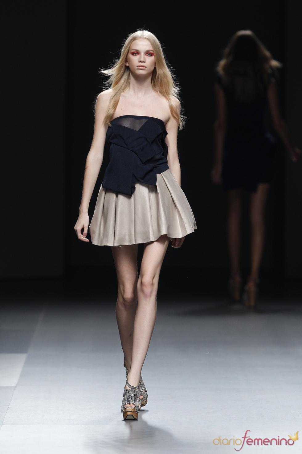 Cibeles Madrid Fashion Week con Amaya Arzuaga