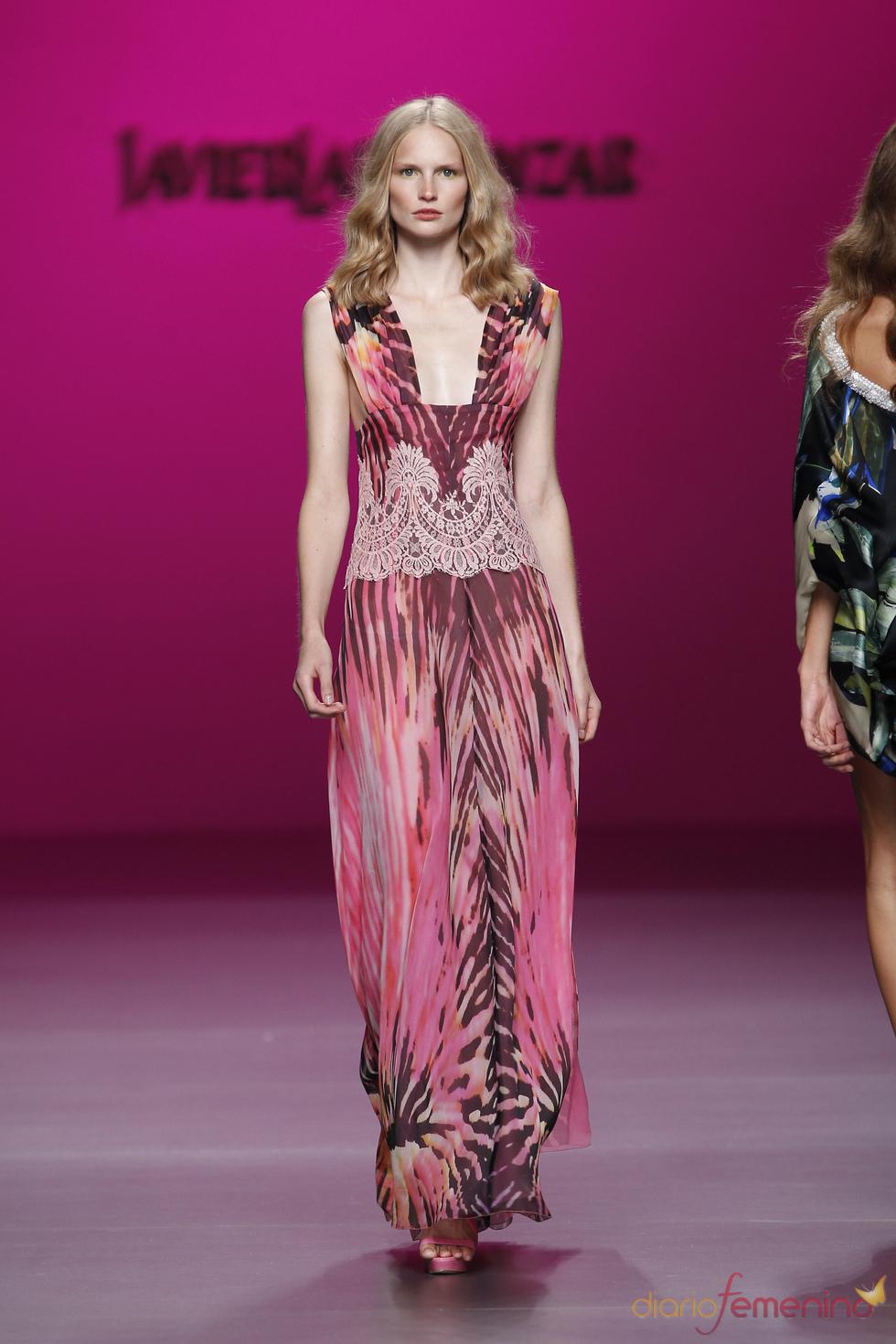 Vestido de fiesta para primavera-verano 2011, Javier Larrainzar