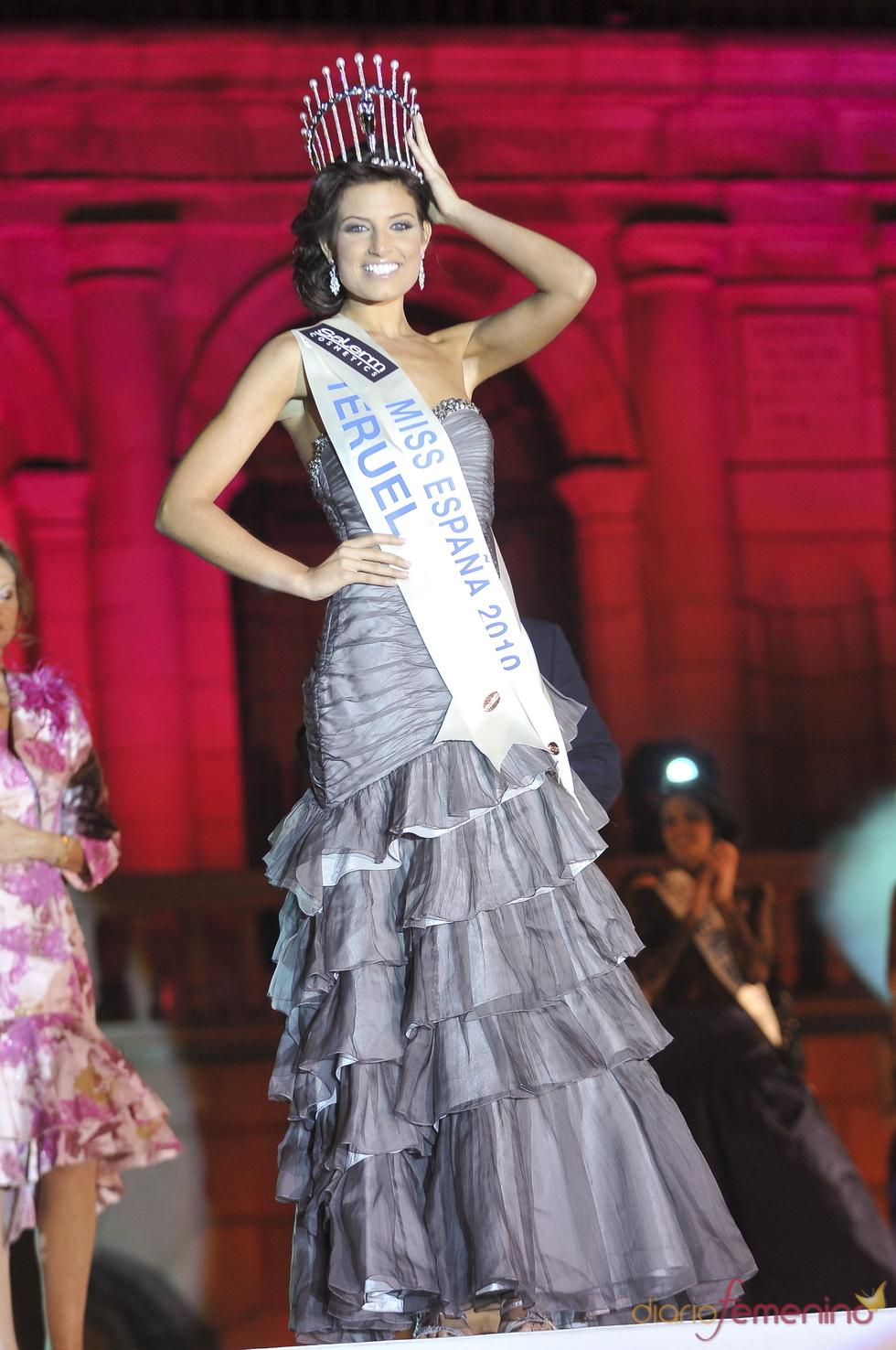 Paula Guilló luce la corona de Miss España