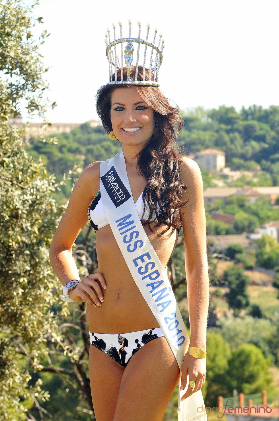 Paula Guilló, Miss España 2010, de bikini