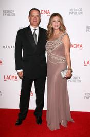 Tom Hanks y Rita Wilson en la gala LACMA
