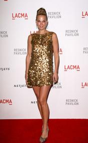 Molly Sims en la gala LACMA