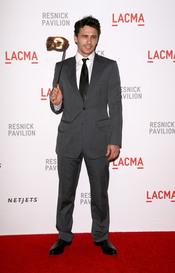 James Franco en la gala LACMA