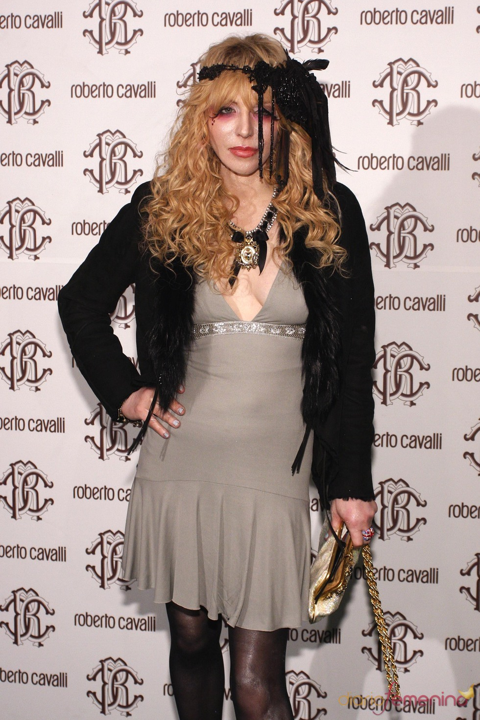 Courtney Love en la Milán Fashion Week