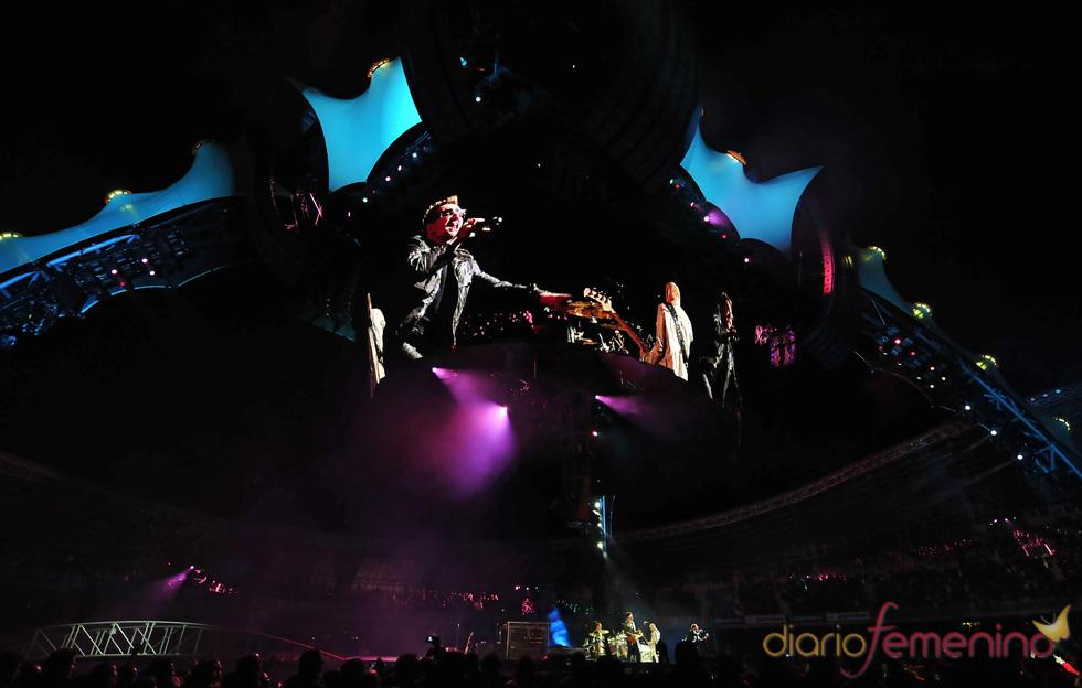 Salto de Bono en al escenario