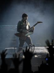 The Edge, en un concierto en Anoeta
