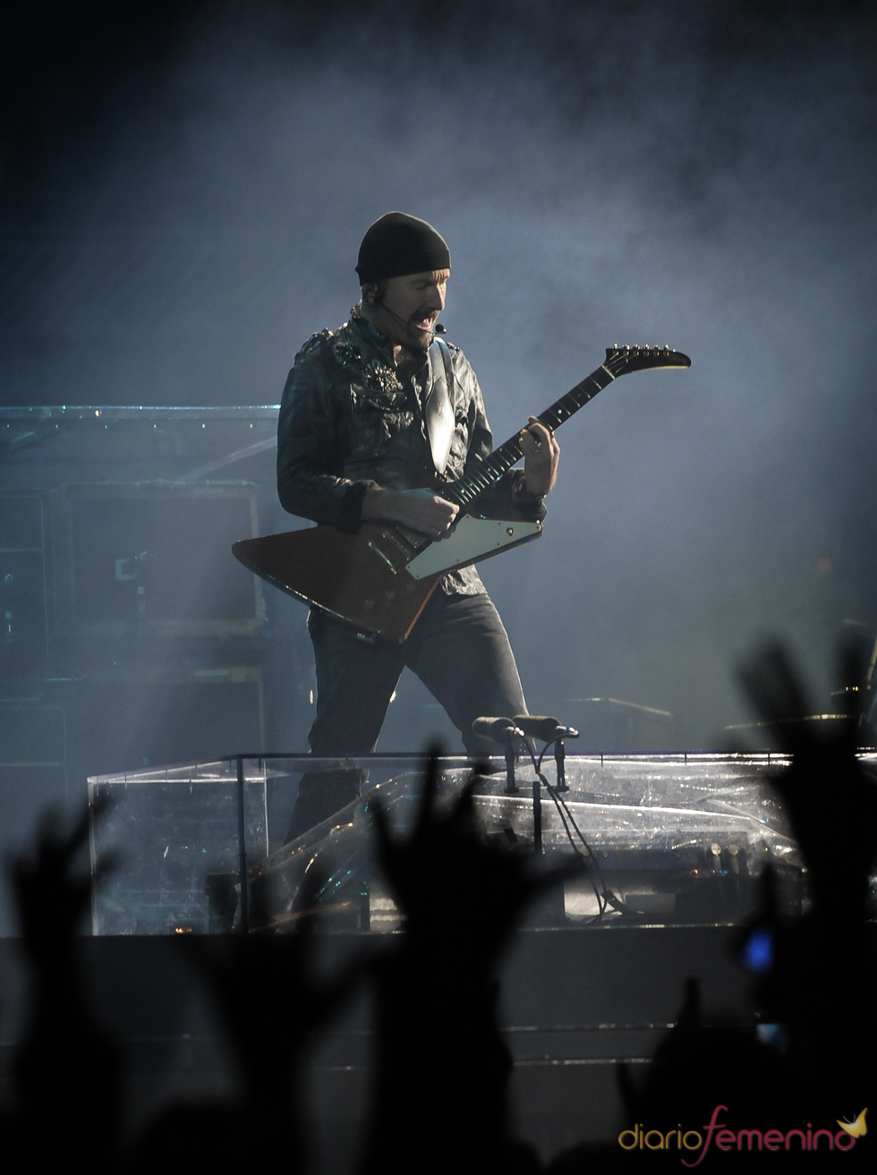 The Edge, en un concierto en Anoeta