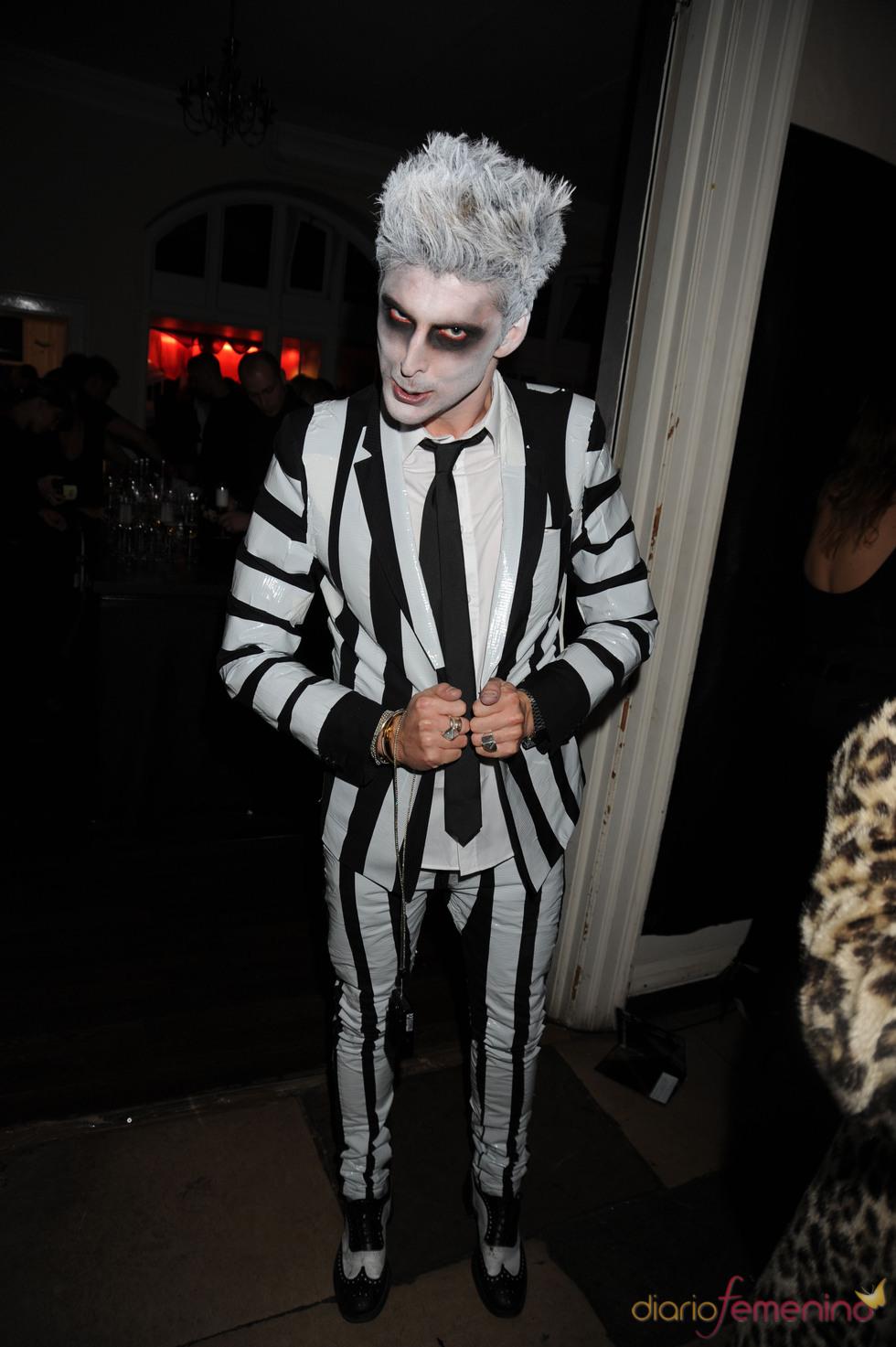 El diseñador Henry Holland en Halloween