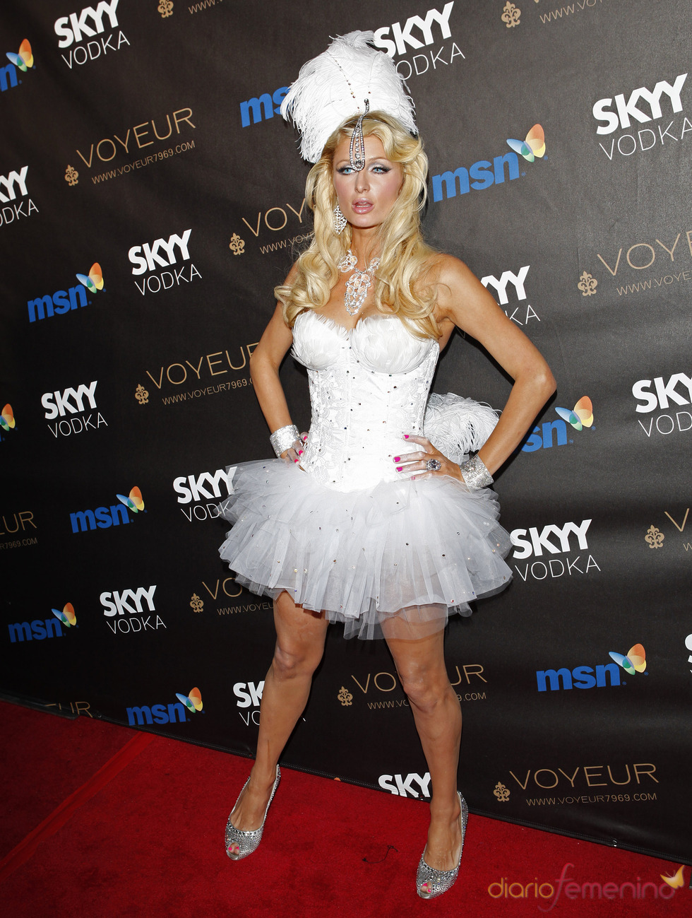 Paris Hilton en Halloween