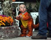 El hijo pequeño de Gwen Stefani, Zuma Rossdale, muy divertido en Halloween