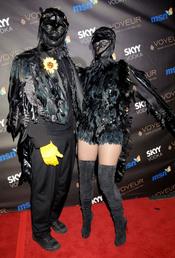 Seal y Heidi Klum disfrazados en Halloween