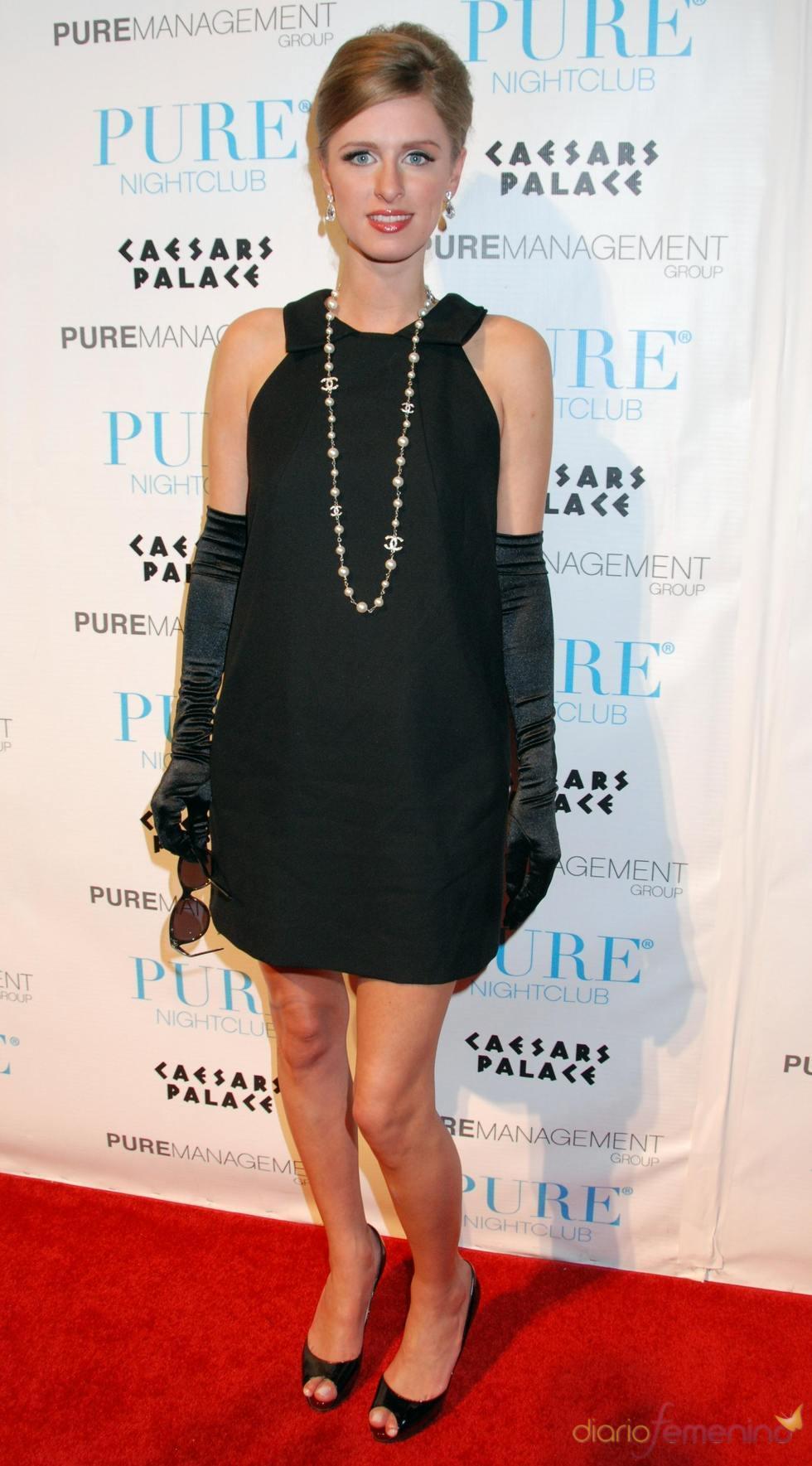 Nicky Hilton vestida de Audrey Hepburn en Halloween