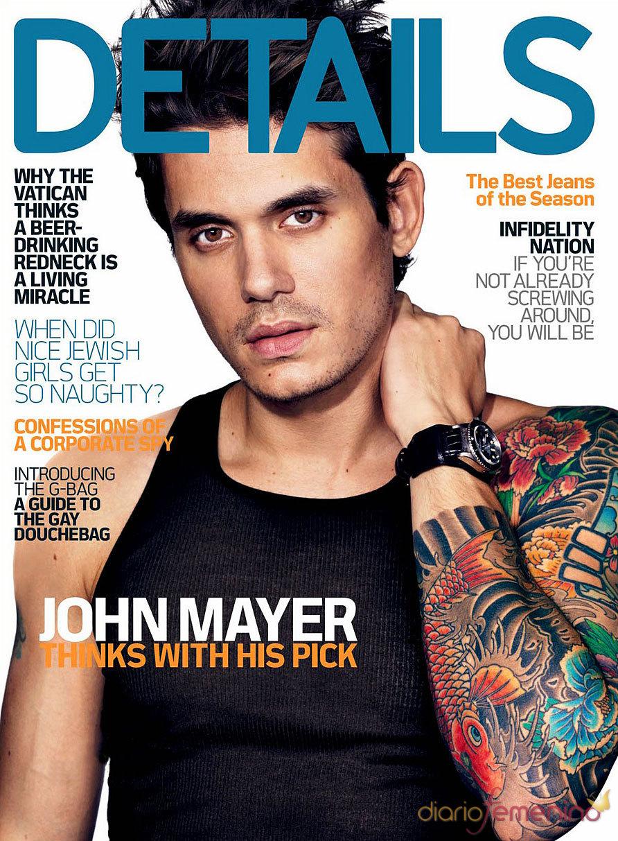 John Mayer, portada de la revista 'Details'