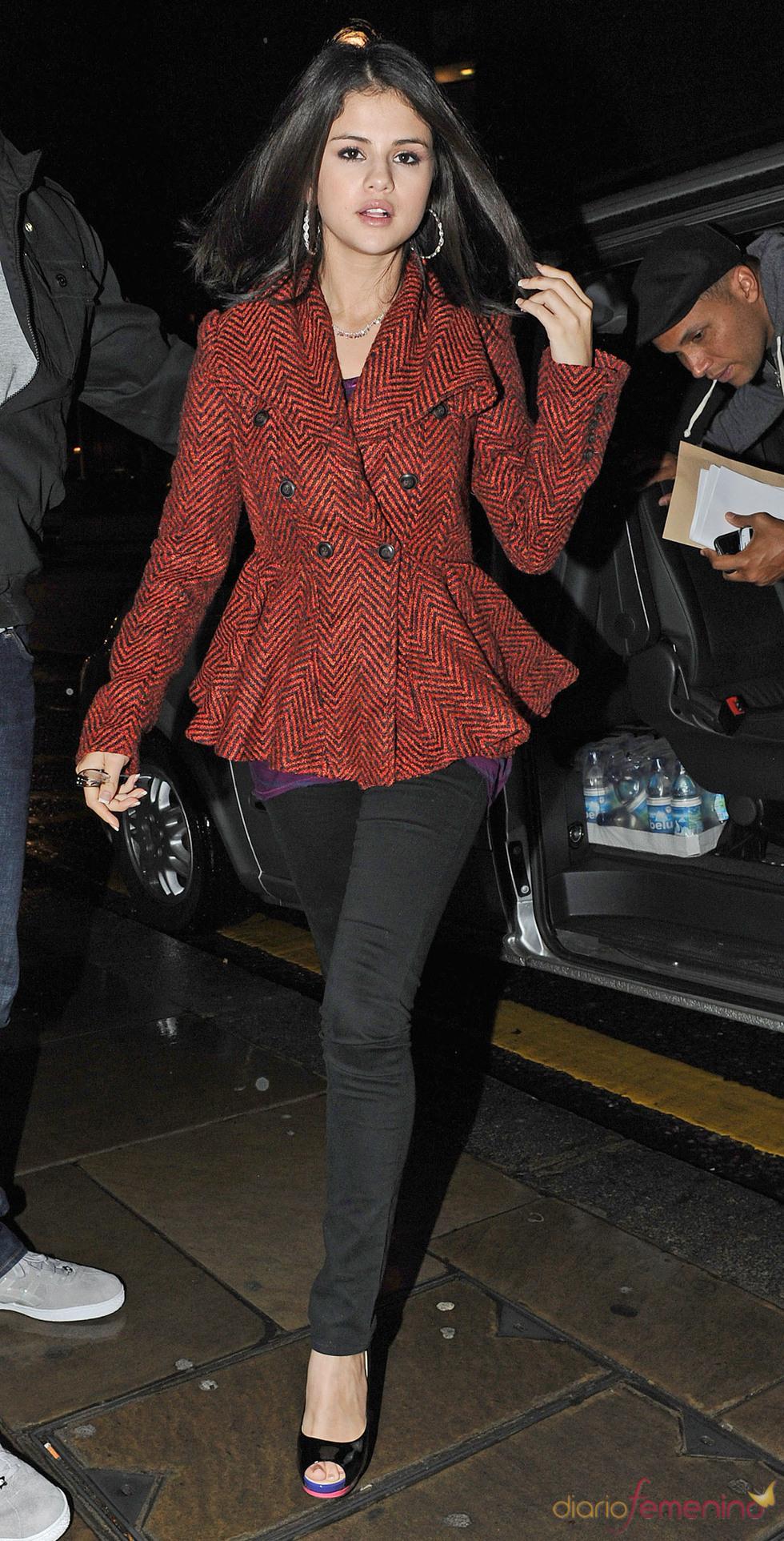 Selena Gomez, un estilo sobrio pero sofisticado