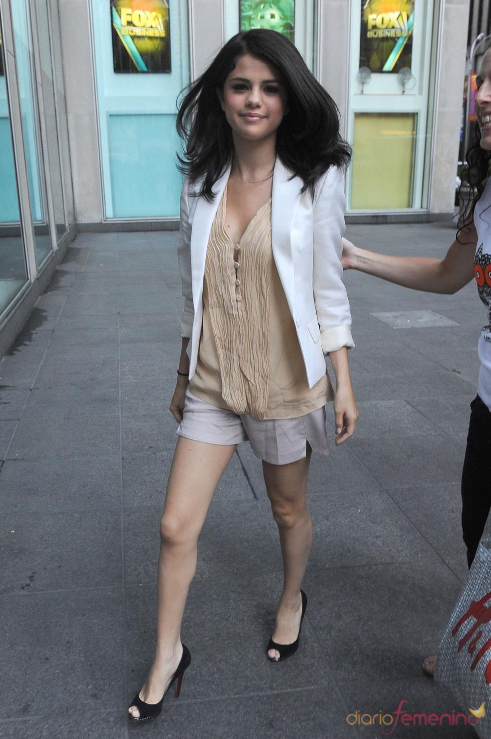 Selena Gomez, toda una mujer de 18 años