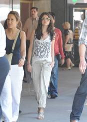 Selena Gomez, con look informal