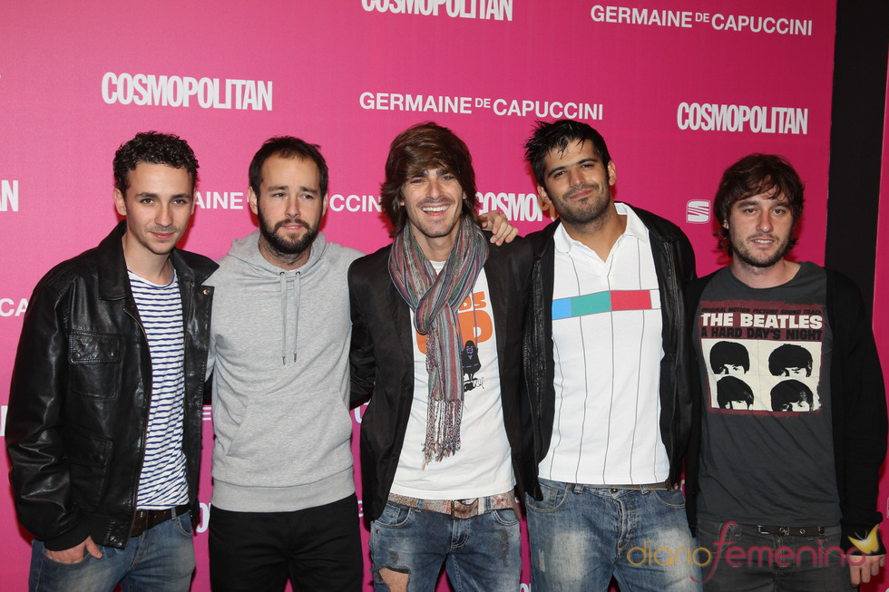 Melocos en los Premios Cosmopolitan 2010