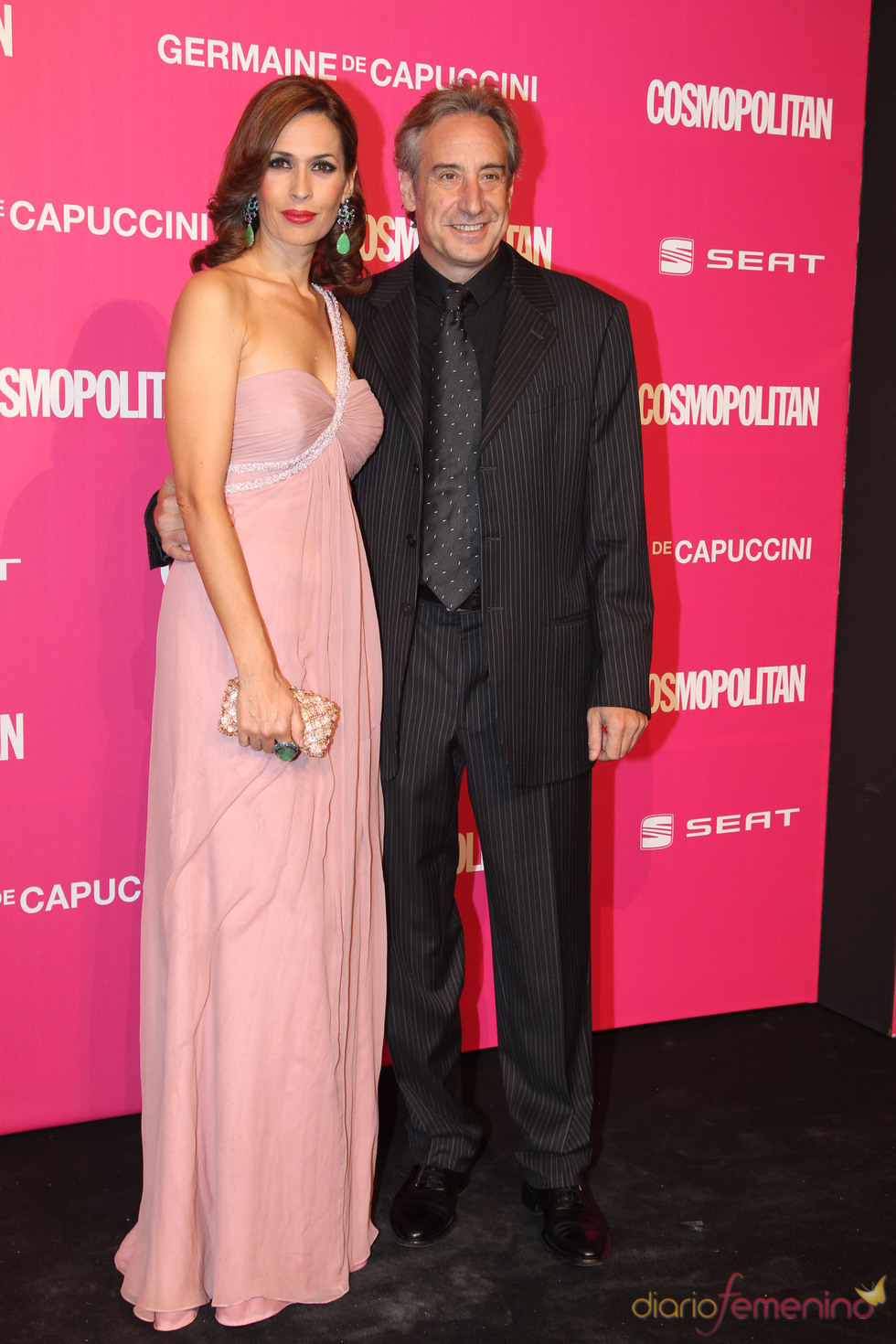 Juanjo Puigcorbé y Lola Marcelli en los Premios Cosmopolitan 2010