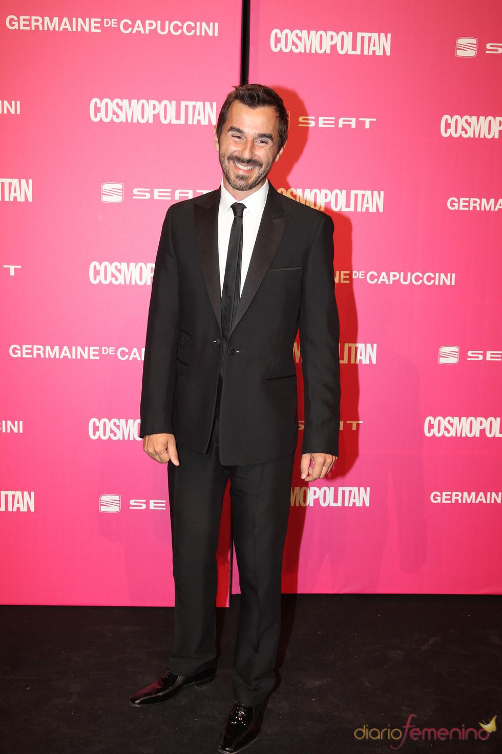 Santi Millán, galardonado en los Premios Cosmopolitan 2010