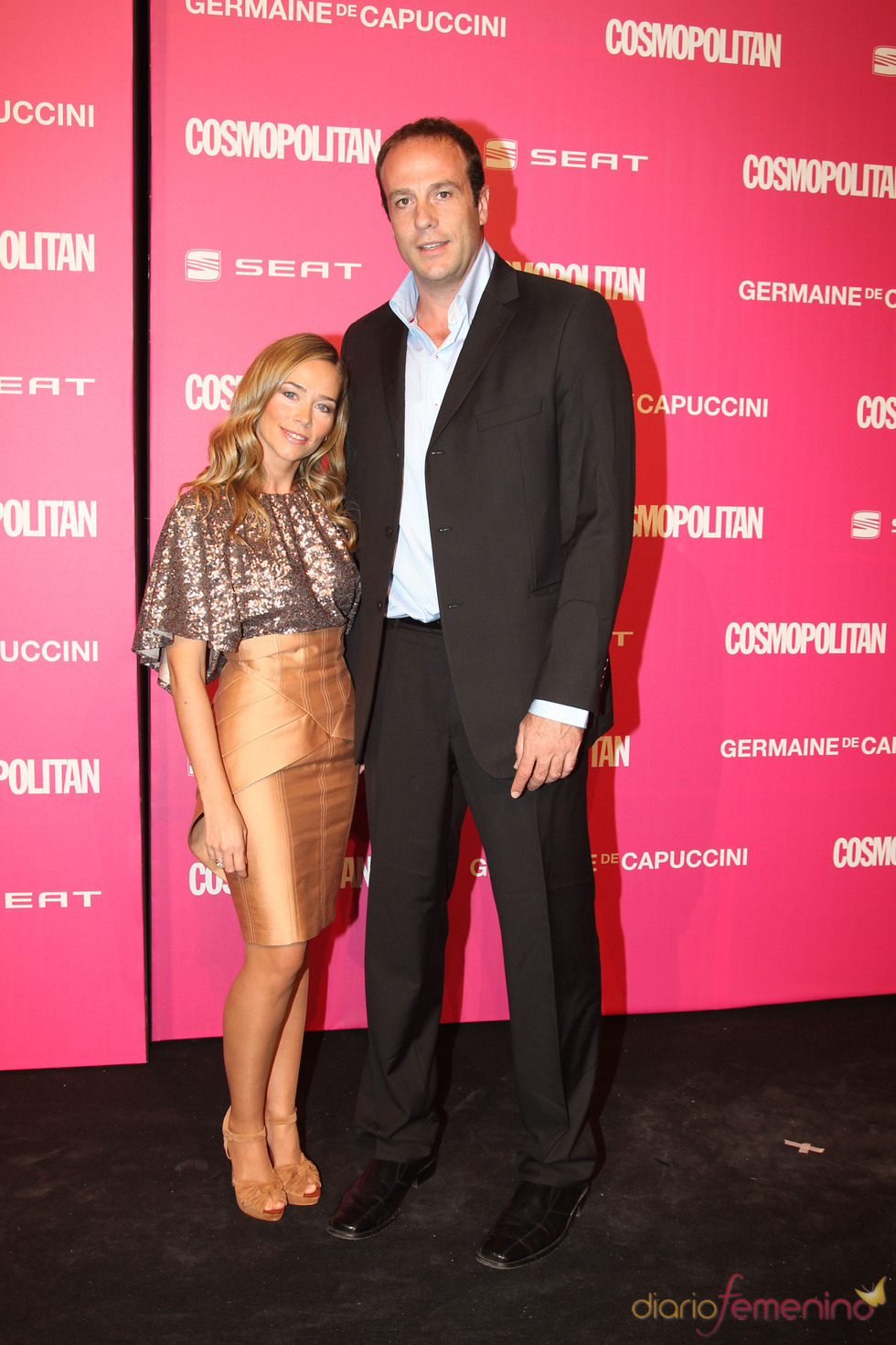 Fran Murcia y Carolina López en los Premios Cosmopolitan 2010