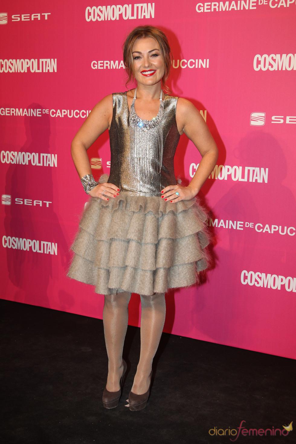 Amaia Montero, galardonada en los Premios Cosmopolitan 2010
