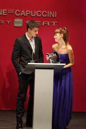 Maxi Iglesias y Úrsula Corberó en los Premios Cosmopolitan 2010