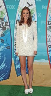 Leighton Meester en los Teen Choice Awards