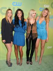 Las cuatro chicas de Gossip Girl