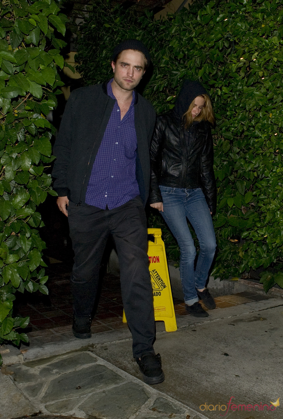 Robert Pattinson y Kristen Stewart cenaron juntos