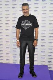 Sergi Arola en la presentación del videojuego Kinect