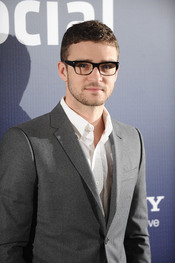 Justin Timberlake en la presentación de 'Red Social' en España
