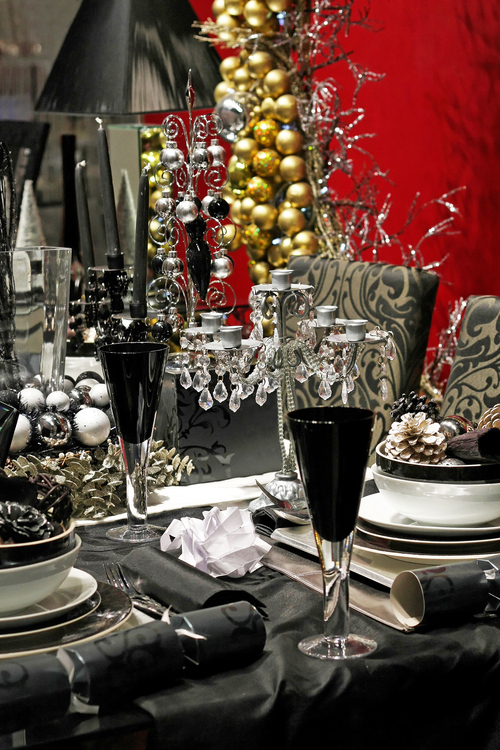 Navidad decoracion mesa - Mesa de navidad decorada ...