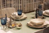Opción para mesa navidad sin utilizar colores típicos