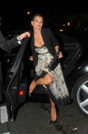 Kate Moss, un posado poco convencional