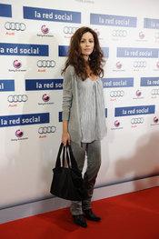 Ana Álvarez en el estreno de 'La red social'