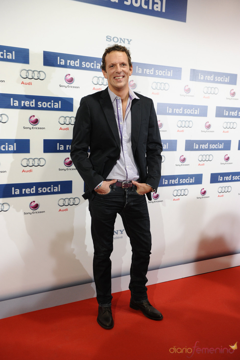 Estreno de 'La red social' con Joaquin Prat