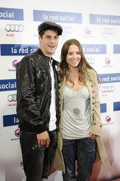 Luis y Ana Fernández en la premiere de 'La red social'