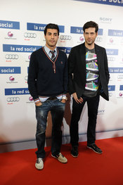 Miguel Torres y Juan García Postigo van a ver 'La red social'