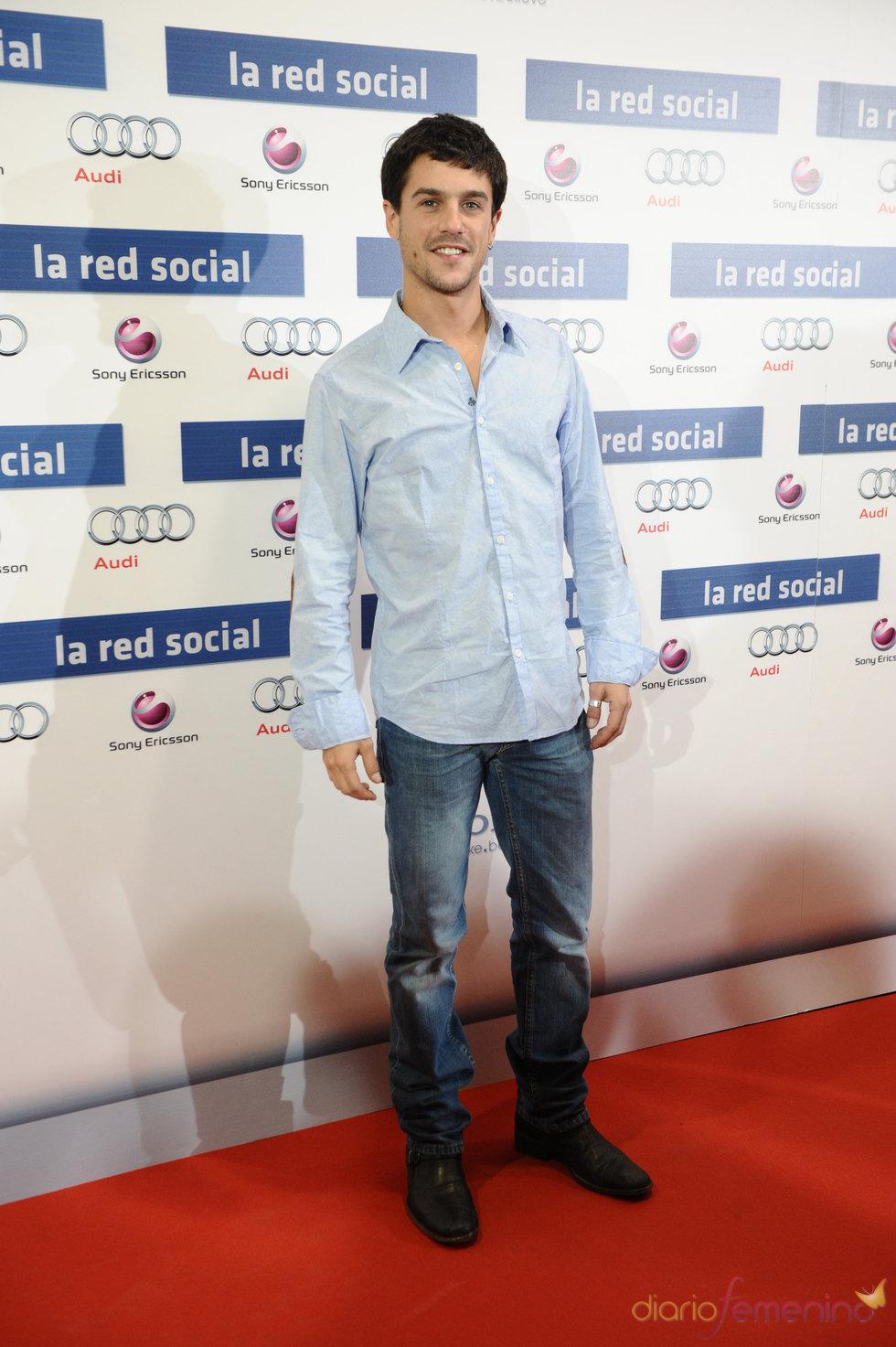 Estreno de 'La red social' con Alejo Sauras