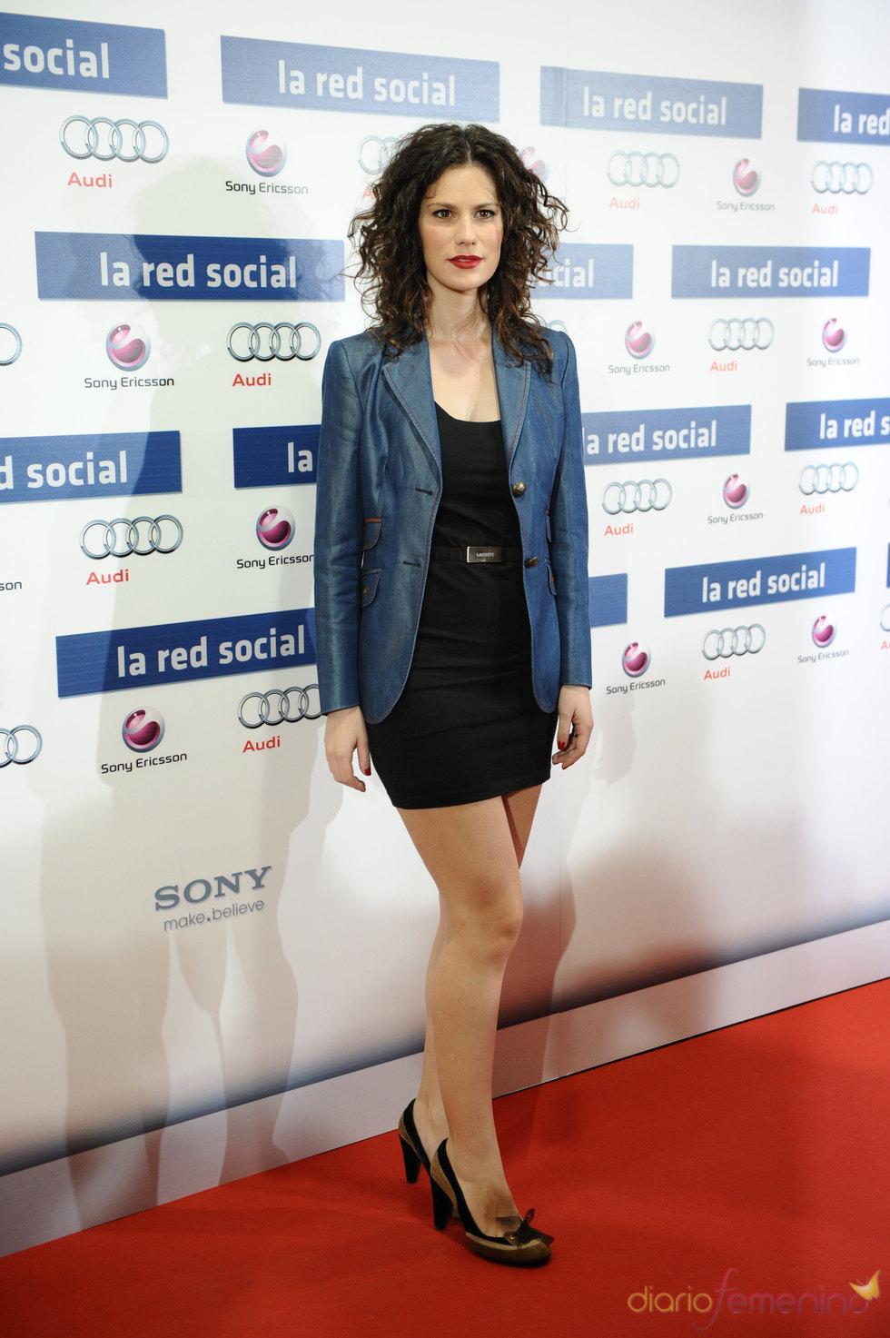 Estreno de 'La red social' con Lidia San José
